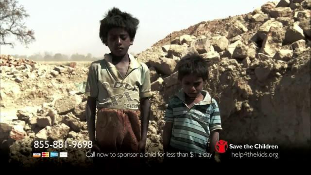 Save the Children TV Commercial, 'Extreme Poverty'