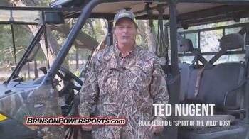 Brinson Powersports TV Spot, 'ATV Superstore' Featuring Ted Nugent
