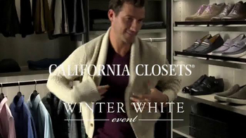 California Closets Winter White Event TV Spot, 'Upgrade' - Thumbnail 1