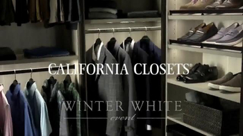 California Closets Winter White Event TV Spot, 'Upgrade' - Thumbnail 2