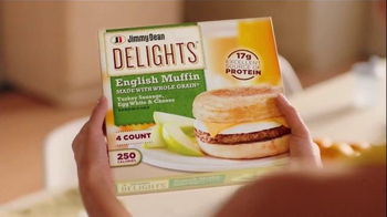 Jimmy Dean Delights TV Spot, 'Power You Through the Morning'