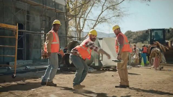 Dr. Scholl's Massaging Gel TV Spot, 'Construction Workers' - Thumbnail 4