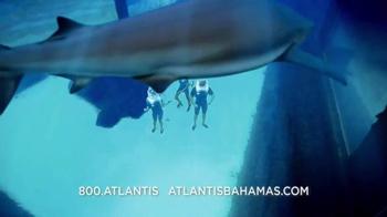 Atlantis TV Spot, 'Why Do We Vacation: Sharks' - Thumbnail 2