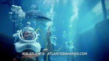 Atlantis TV Spot, 'Why Do We Vacation: Sharks' - Thumbnail 3