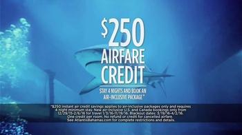 Atlantis TV Spot, 'Why Do We Vacation: Sharks' - Thumbnail 5