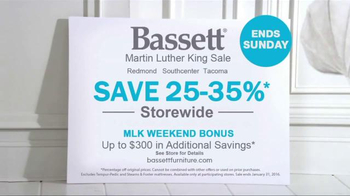 Bassett Martin Luther King Sale TV Spot, 'Colorful Options' - Thumbnail 7