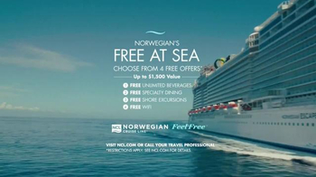 Norwegian Cruise Lines TV Spot, 'Feel Free: Four Offers' Song by Pitbull - Thumbnail 10