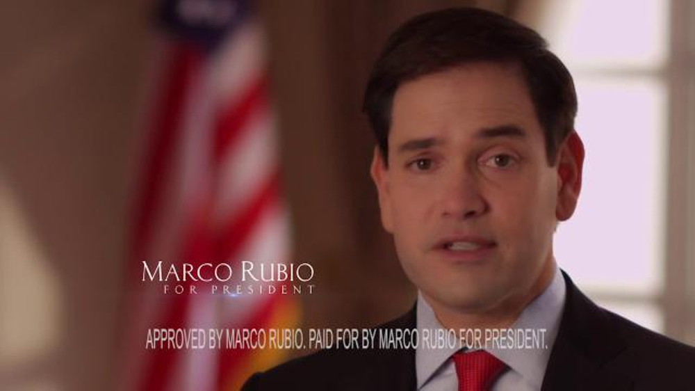 Marco Rubio for President TV Commercial, 'Safe'