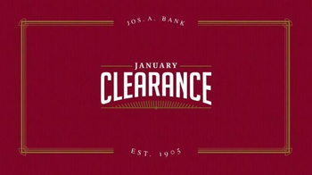 JoS. A. Bank January Clearance Event TV Spot, 'Suits, Sportcoats and More' - Thumbnail 1