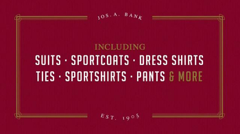 JoS. A. Bank January Clearance Event TV Spot, 'Suits, Sportcoats and More' - Thumbnail 5