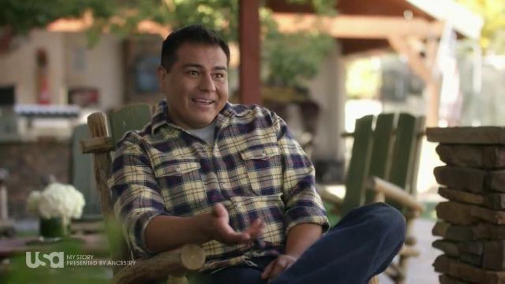 AncestryDNA TV Commercial, 'USA Network: My Story'