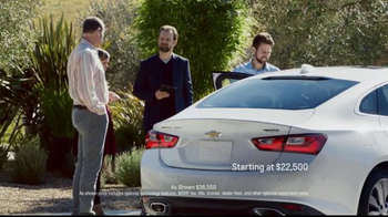 2016 Chevrolet Malibu TV Spot, 'The Car You Never Expected' - Thumbnail 7