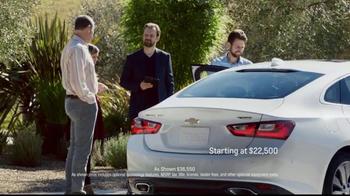 2016 Chevrolet Malibu TV Spot, 'The Car You Never Expected' - Thumbnail 7