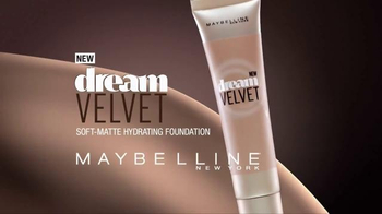 Maybelline Dream Velvet Foundation TV Spot, 'Hydration' Feat. Adriana Lima