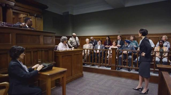 Trident TV Spot, 'Courtroom Innocence'