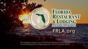 Florida Restaurant & Lodging Association TV Spot, 'World Class Hospitality' - Thumbnail 8