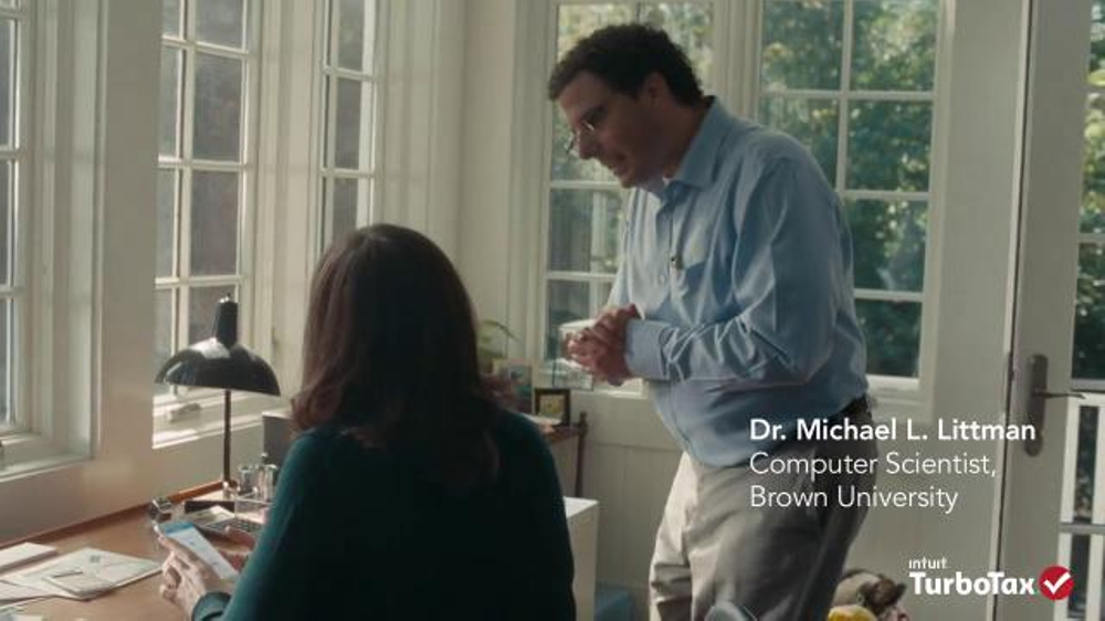 Turbotax Tv Commercial Michael L Littman Explainwhy