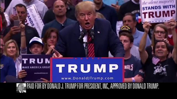 Donald J. Trump for President TV Spot, 'Great Again' - 9 commercial airings
