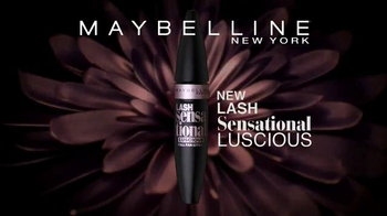 Maybelline New York Lash Sensational Luscious TV Spot, 'Full-Fan Effect' - Thumbnail 9