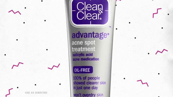 Clean & Clear Acne Spot Treatment TV Spot, 'Red Spots' - Thumbnail 5