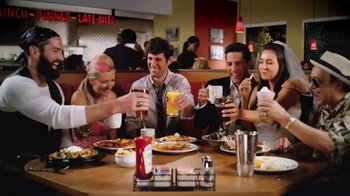 Denny's Grand Slam Slugger TV Spot, 'Late Night at Denny's' - 343 commercial airings