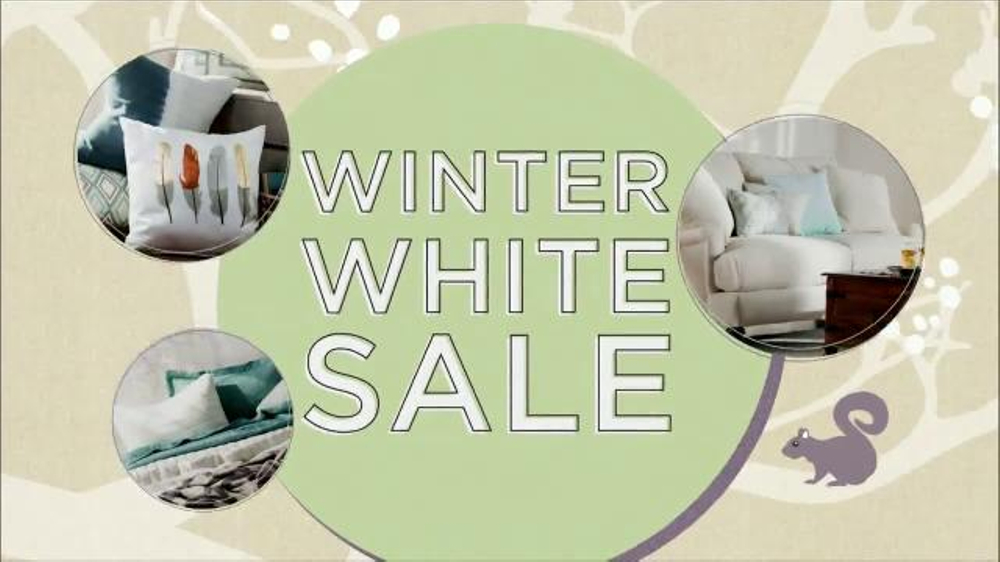Wayfair Winter White Sale TV Commercial, 'Bedding, Rugs and Bath Essentials'
