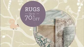 Wayfair Winter White Sale TV Spot, 'Bedding, Rugs and Bath Essentials' - Thumbnail 4
