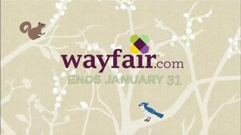 Wayfair Winter White Sale TV Spot, 'Bedding, Rugs and Bath Essentials' - Thumbnail 5