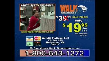 WalkFit Platinum TV Spot, 'Five Million' - Thumbnail 9