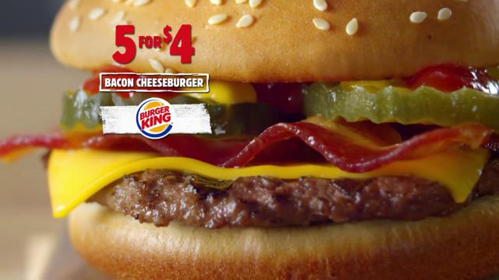 burger king 5 for 4 deal tv commercial more for four ispot tv