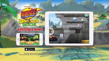 Blaze and the Monster Machines Dinosaur Rescue TV Spot, 'Eggcellent' - Thumbnail 10