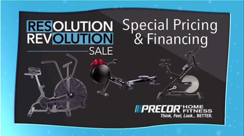Precor Home Fitness Resolution Revolution Sale TV Spot, 'Health Resolution' - Thumbnail 3