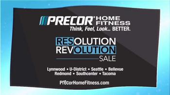 Precor Home Fitness Resolution Revolution Sale TV Spot, 'Health Resolution' - Thumbnail 5
