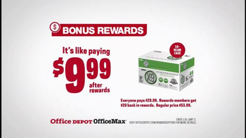 Office Depot TV Spot, 'Gearcentric: Bonus Rewards'