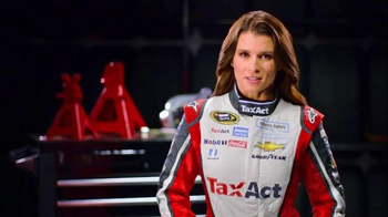 TaxACT TV Spot, 'The Best Deal in Tax' Featuring Danica Patrick - Thumbnail 6