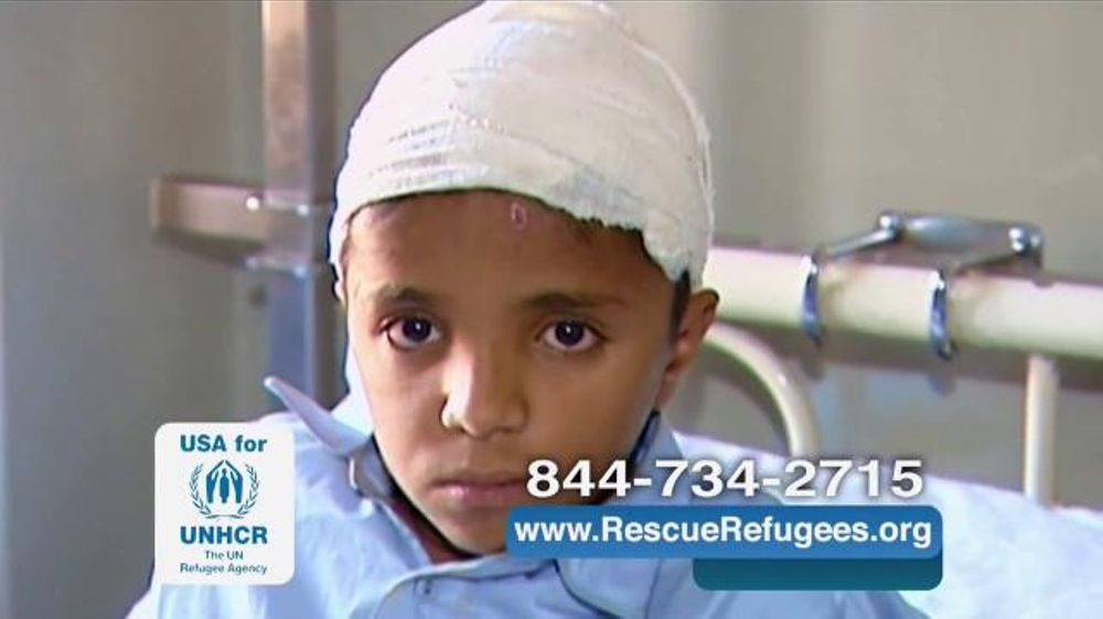 USA for UNHCR TV Commercial, 'One too Many'