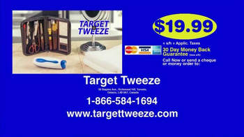 Target Tweeze TV Spot, 'Time-Consuming Tweezing' - Thumbnail 9