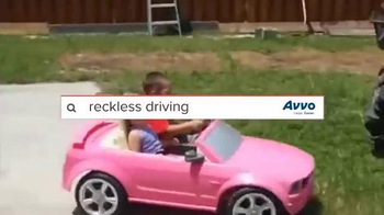 Avvo TV Spot, 'Barbie Car, Slingshot and Poor Scooter Person'