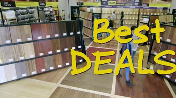 Lumber Liquidators January Flooring Sale TV Spot, 'Laminate and Hardwood' - Thumbnail 1
