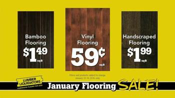 Lumber Liquidators January Flooring Sale TV Spot, 'Laminate and Hardwood' - Thumbnail 8
