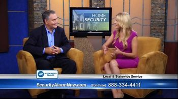 Security Alarm Now TV Spot, 'Home Safety' Featuring Danny White