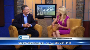 Security Alarm Now TV Spot, 'Home Safety' Featuring Danny White - 117 commercial airings
