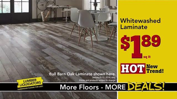 Lumber Liquidators TV Spot, 'New Year's Deals' - Thumbnail 7
