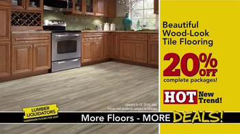 Lumber Liquidators TV Spot, 'New Year's Deals' - Thumbnail 8