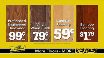 Lumber Liquidators TV Spot, 'New Year's Deals' - Thumbnail 9