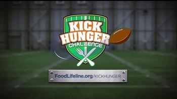 Food Lifeline TV Spot, 'Kick Hunger Challenge' - Thumbnail 10