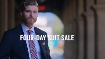 Men's Wearhouse Four-Day Suit Sale TV Spot, 'New Look' - Thumbnail 1