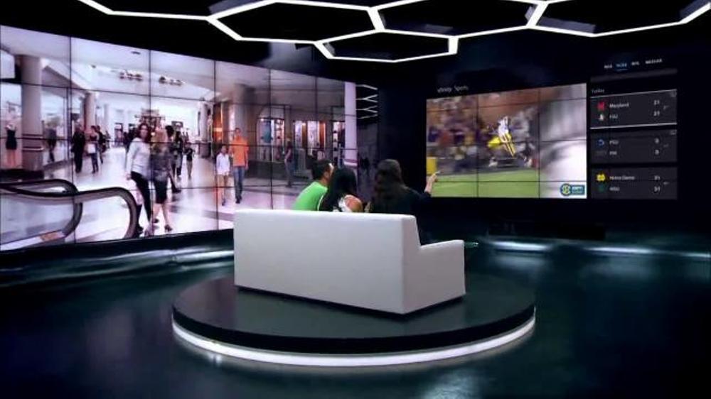 Xfinity X1 Triple Play Tv Commercial Three Games Of Football