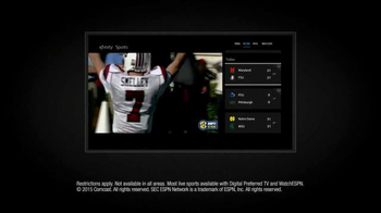 XFINITY X1 Triple Play TV Spot, 'Three Games of Football' - Thumbnail 8