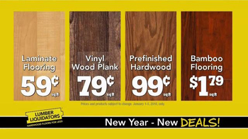 Lumber Liquidators TV Spot, 'New Years Makeover' - Thumbnail 6